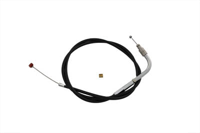 "BTE THROTTLE CABLE, BLACK, 35.625""CASING"