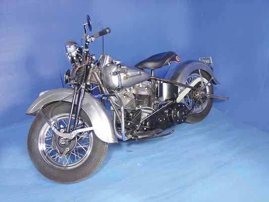 1948 PANHEAD REPLICA KIT, RESTO FINISH