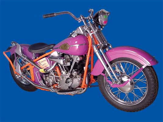 1941 KNUCKLEHEAD BOBBER KIT,CHROME