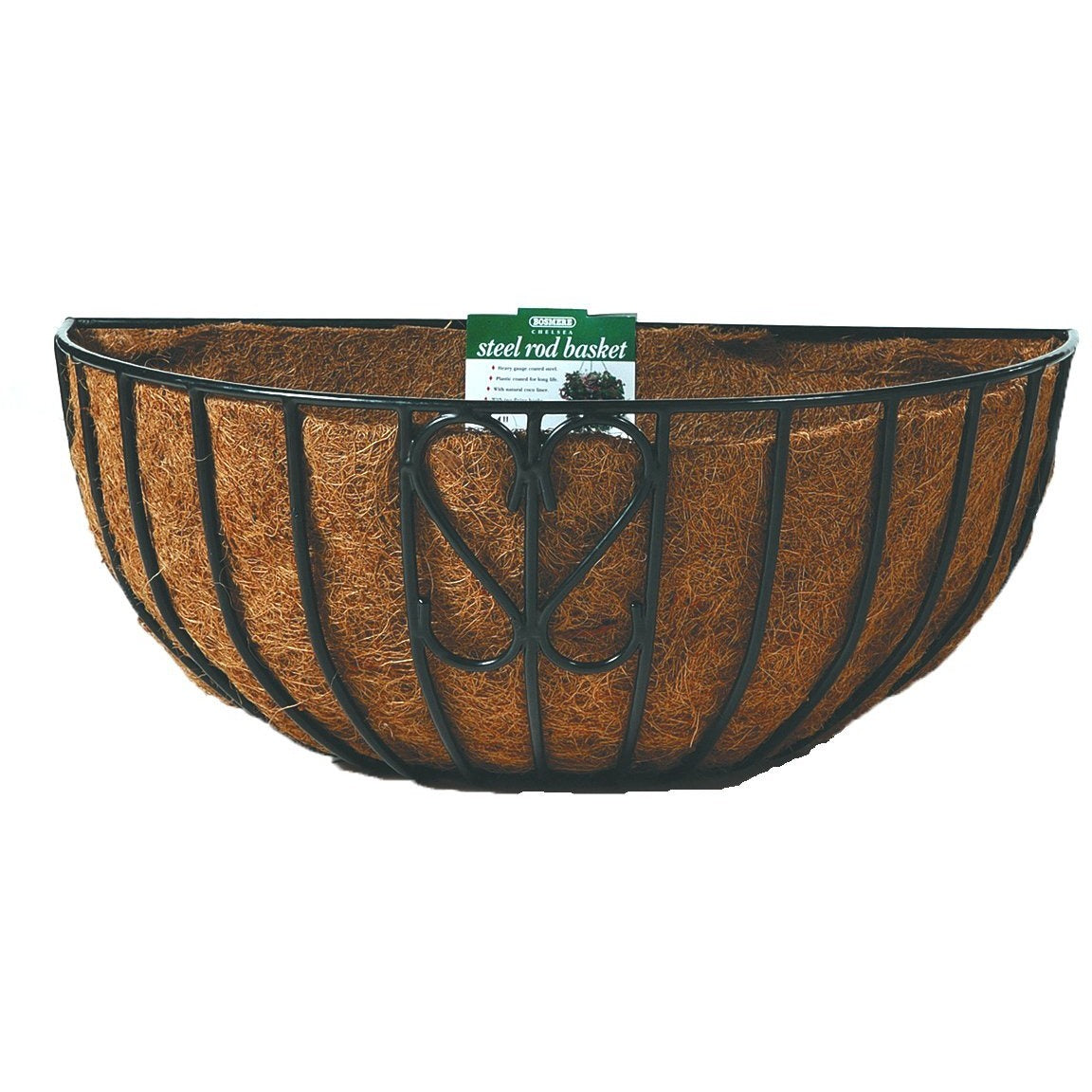 Wall Planter with Coco Liner & Hanging Hooks - Garden Beds and More