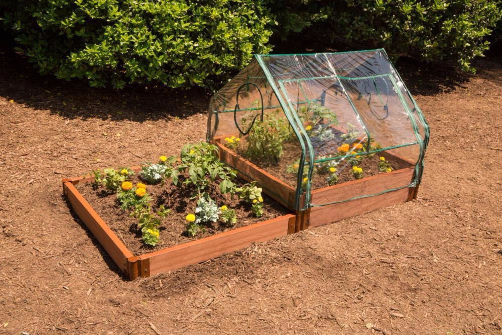 Greenhouse Kit - Frame It All PVC 4\' X 4\' X 36\
