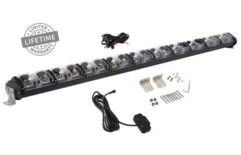 50 Inch LED Light Bar With Variable Beam DRL, RGB Back Light 6 Brightness EKO Overland Vehicle Systems