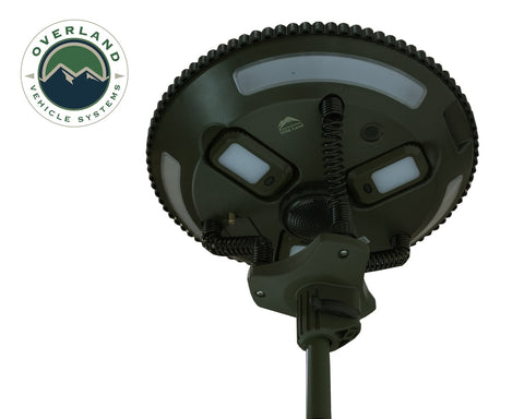 Solar Camping Light Pods & Speaker Universal Wild Land Overland Vehicle Systems