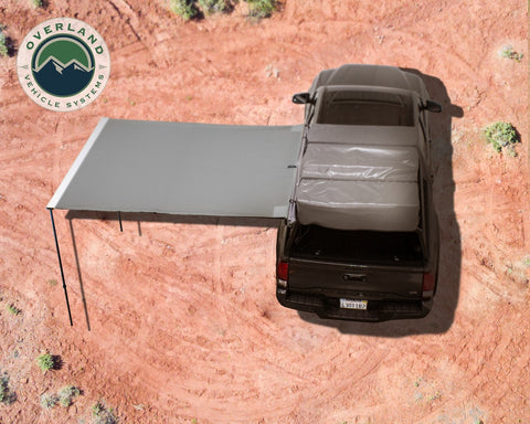 Awning 2.5-8.0 Foot With Black Cover Universal Nomadic Overland Vehicle Systems