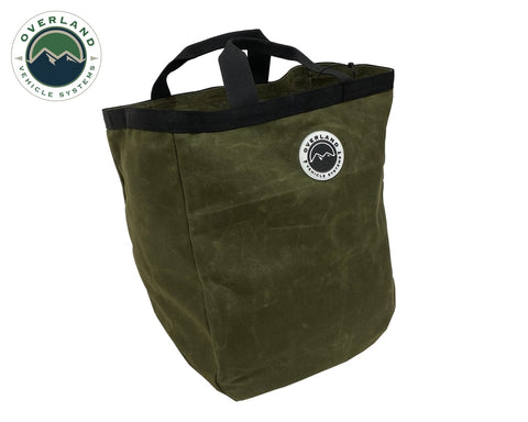 Cavas Tote Bag 16 Lb Waxed Canvas Overland Vehicle Systems