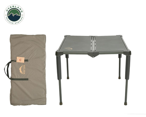 Camping Table Folding Portable Camping Table Large With Storage Case Wild Land Overland Vehicle Systems