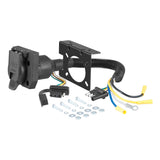 CURT Class 3 Trailer Hitch w/Wiring for 2014+ Ford Transit Connect