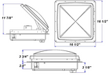 MaxxAir Roof Vent and Fan Assembly