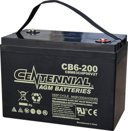 Centennial 6 Volt AGM Battery