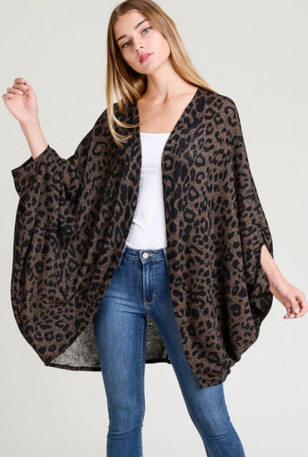 Lightly Leopard Cardigan