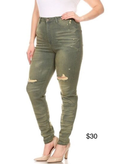 Olive these Jeans