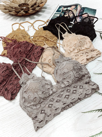 Floresce Bralette (Transition Colors)