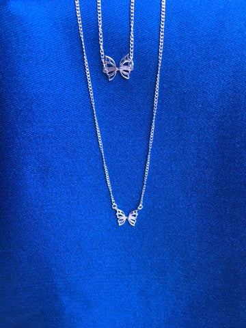 butterfly necklace and bracelet for Hopewell