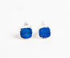 blue gemstone earrings made in india by canadian designer