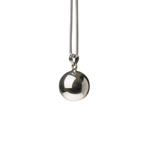 Harmony Sterling Silver Pendant chimes when you shake it