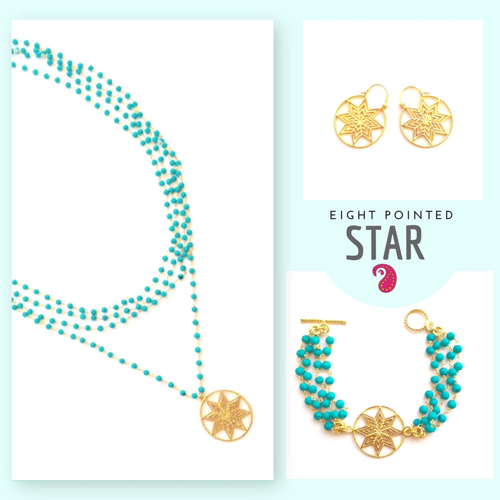 Star Set - Necklace, Bracelet, and Earrings
