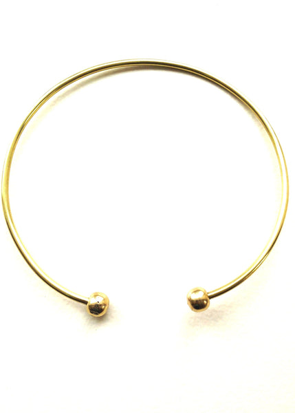 brass bead choker or torque