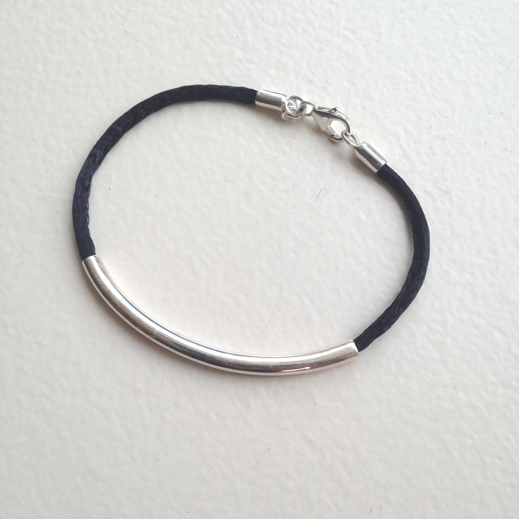 Arc on Silk Bracelet