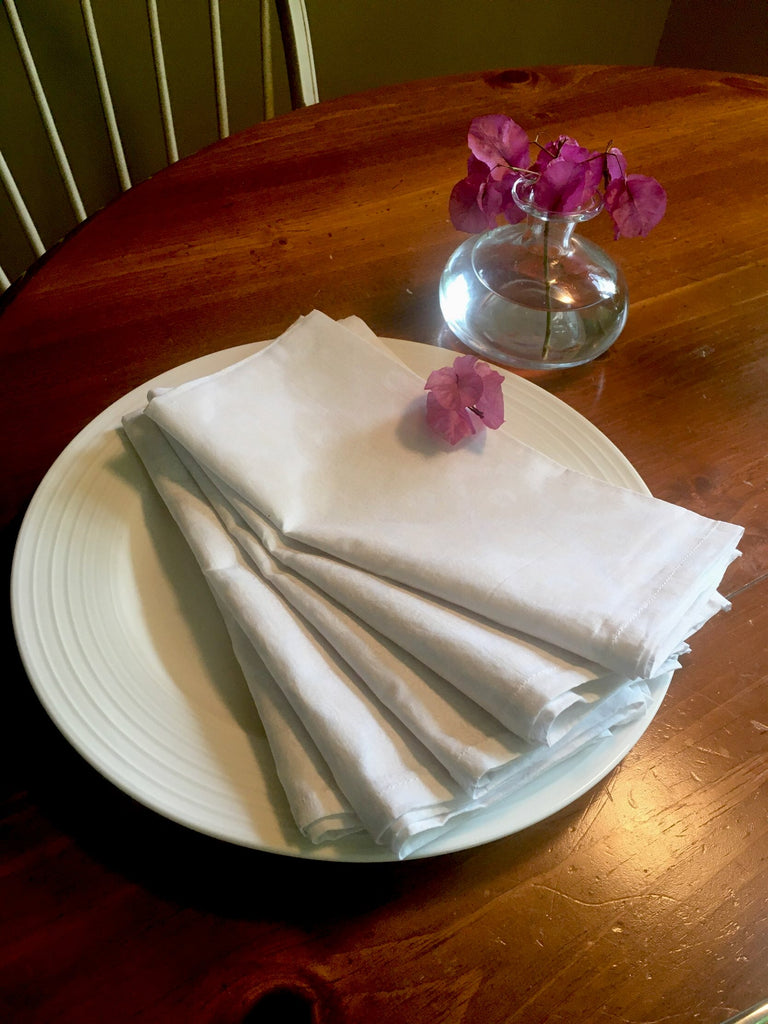 Set of 5 Khari napkin on plate by Thank You India