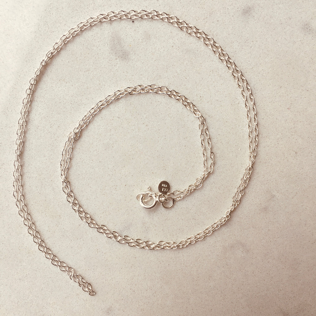 Sterling Silver Chain by Thank You India