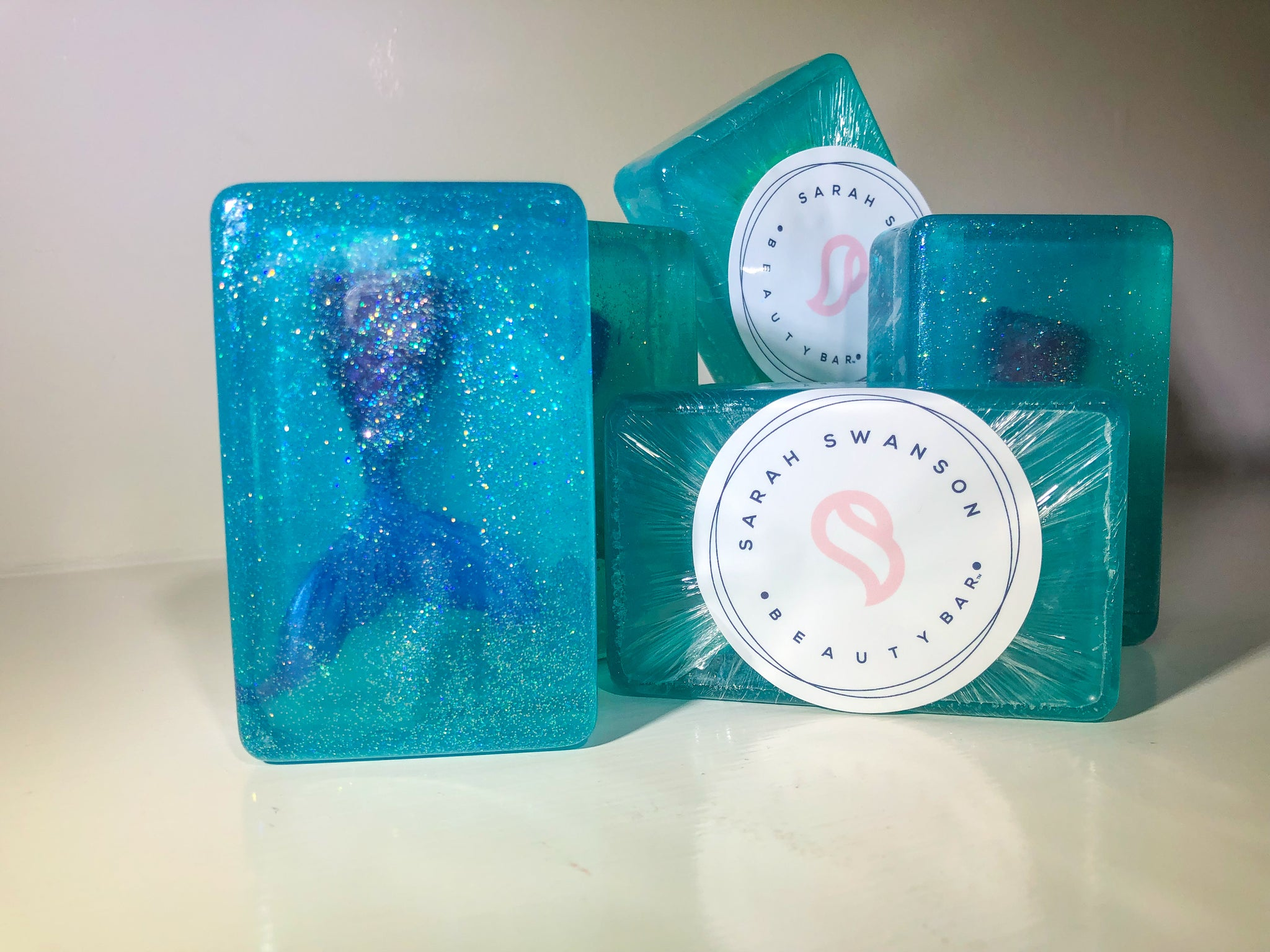 Mermaid Glitter Bath Soap