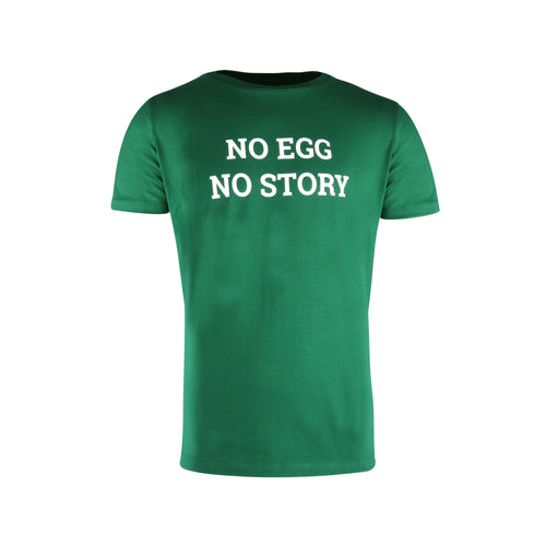 "T-shirt ""No egg No story"" - Big Green Egg"