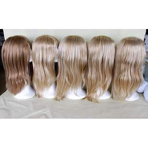 Perruque blonde aux cheveux humains ,, Perruques RL Moda Wigs Inc ..
