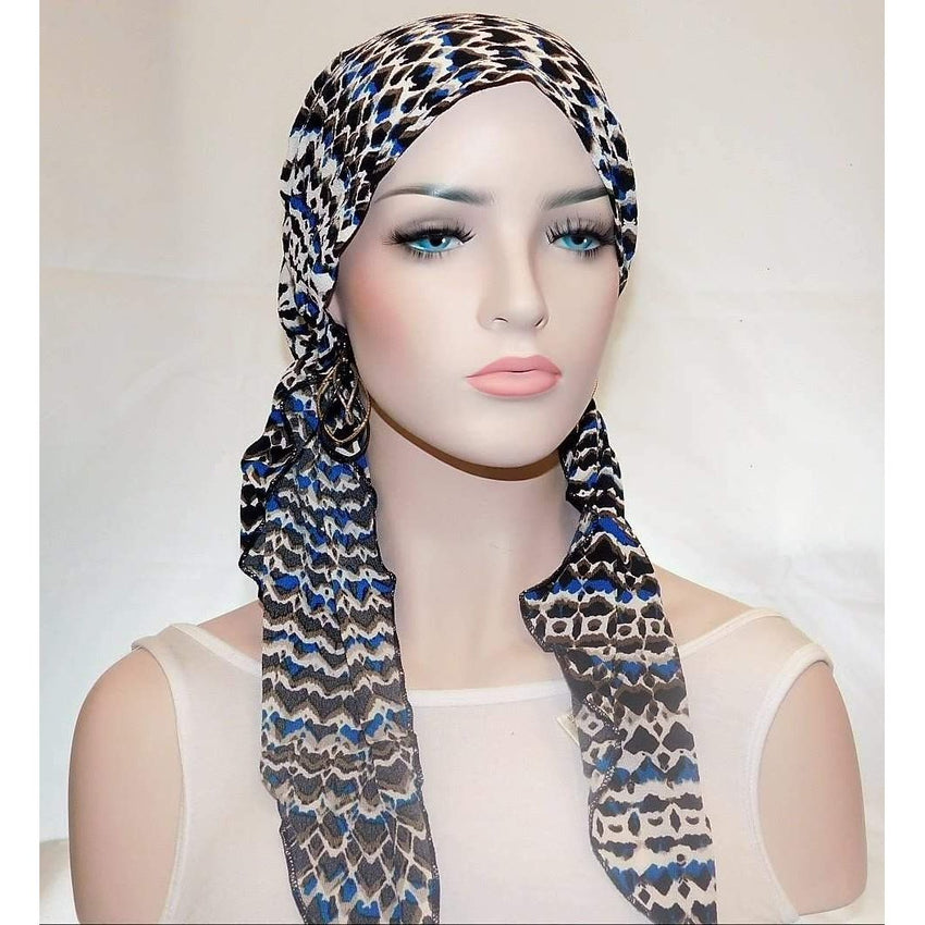 Pre-tied Scarves, Tichels, Snoods,,Perruques RL Moda Wigs Inc..