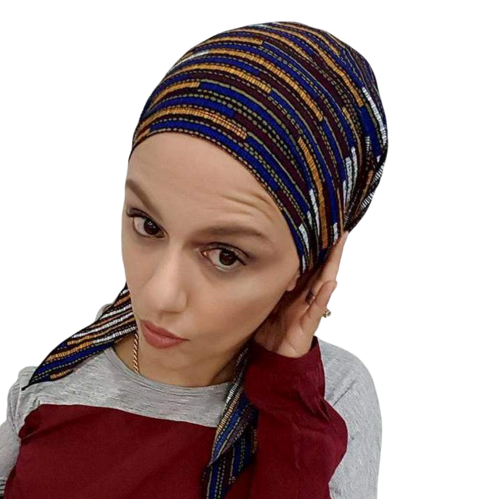 Pre-tied Scarves, Tichels, Snoods Various Patterns,,Perruques RL Moda Wigs Inc..
