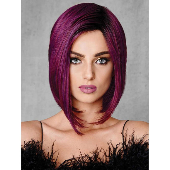 Perruque synthétique de Midnight Berry par Hairdo ,, Perruques RL Moda Wigs Inc ..