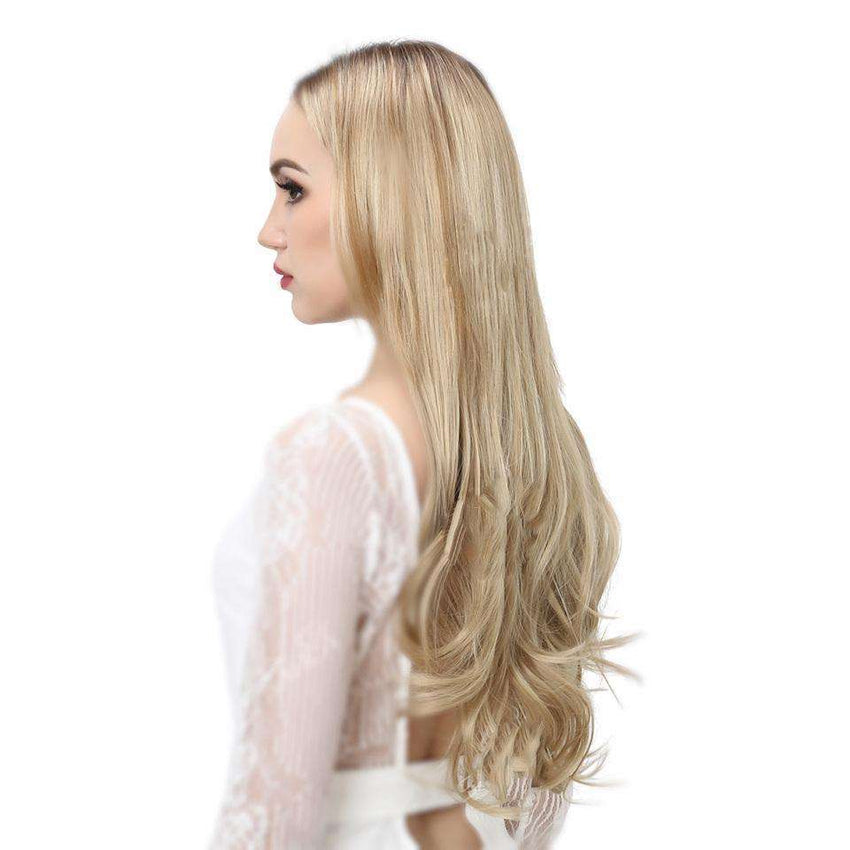 Halo Heat Resistant Synthetic Hair Extensions