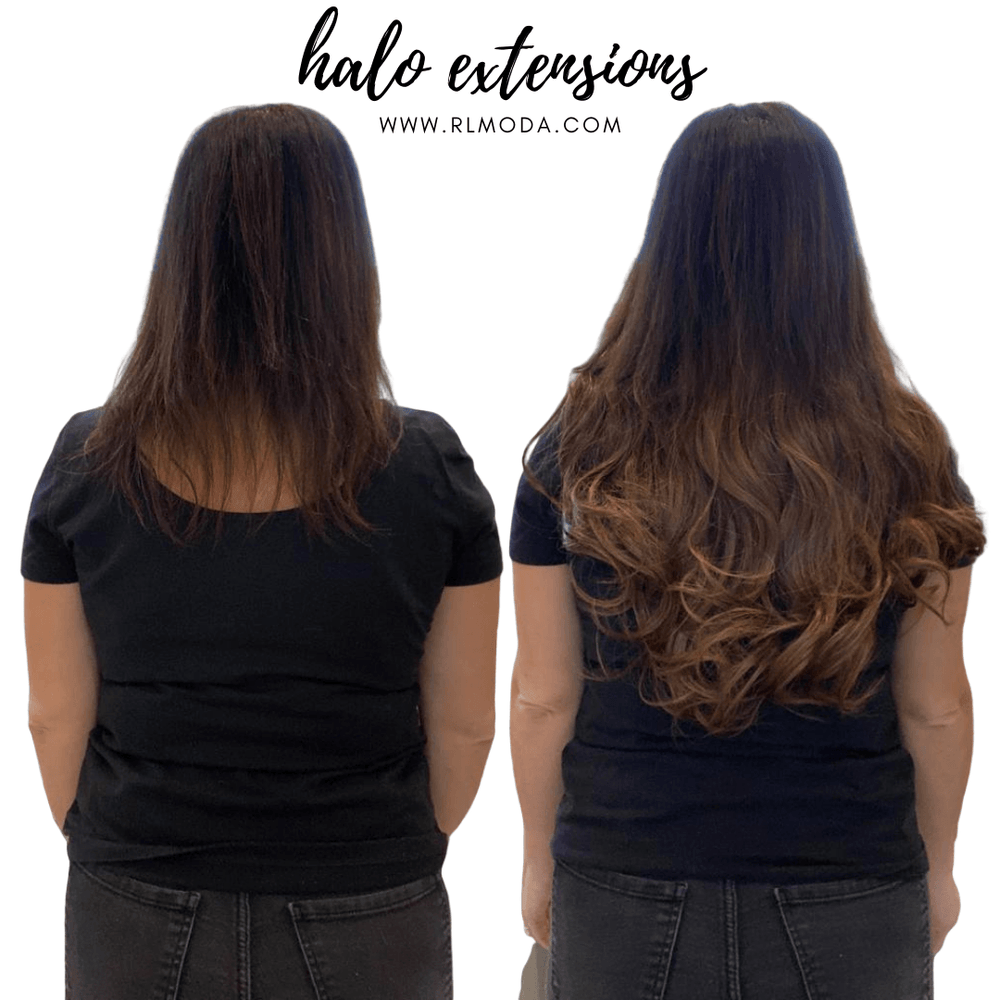 Halo Heat Resistant Synthetic Hair Extensions,,Perruques RL Moda Wigs Inc..