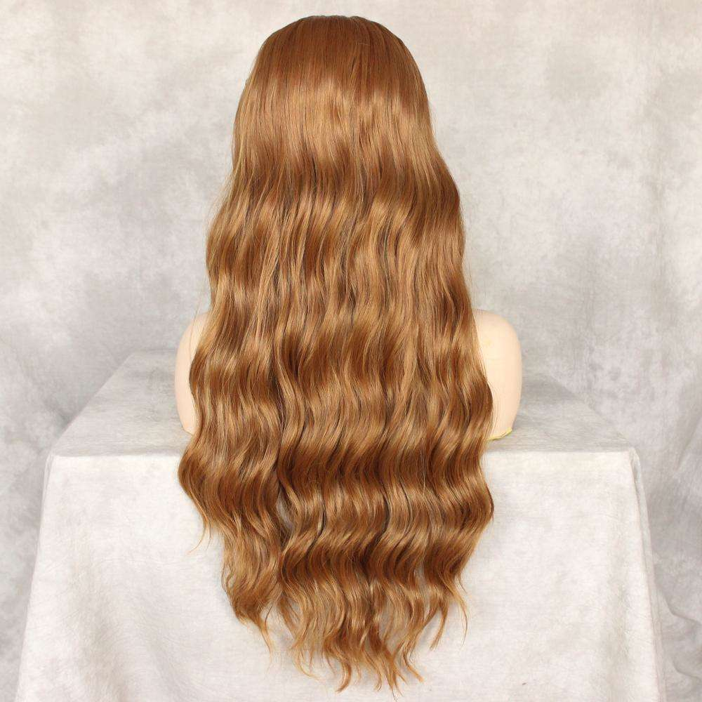 Long Body Wave Synthetic Handmade Lace Top Wig,,Perruques RL Moda Wigs Inc..