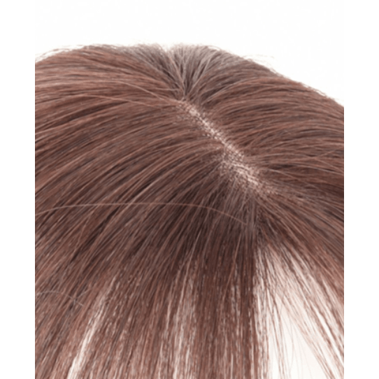 Small Human Hair Topper Monotop,,Perruques RL Moda Wigs Inc..