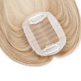 Small Human Hair Toppers in Shades of Blonde,,Perruques RL Moda Wigs Inc..