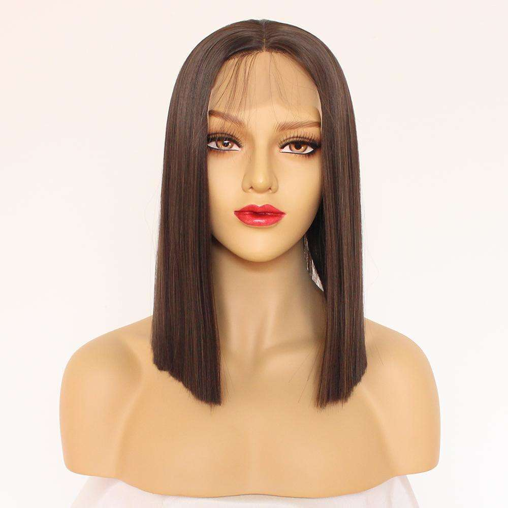Synthetic Bob Style Wig Lace Top,,Perruques RL Moda Wigs Inc..