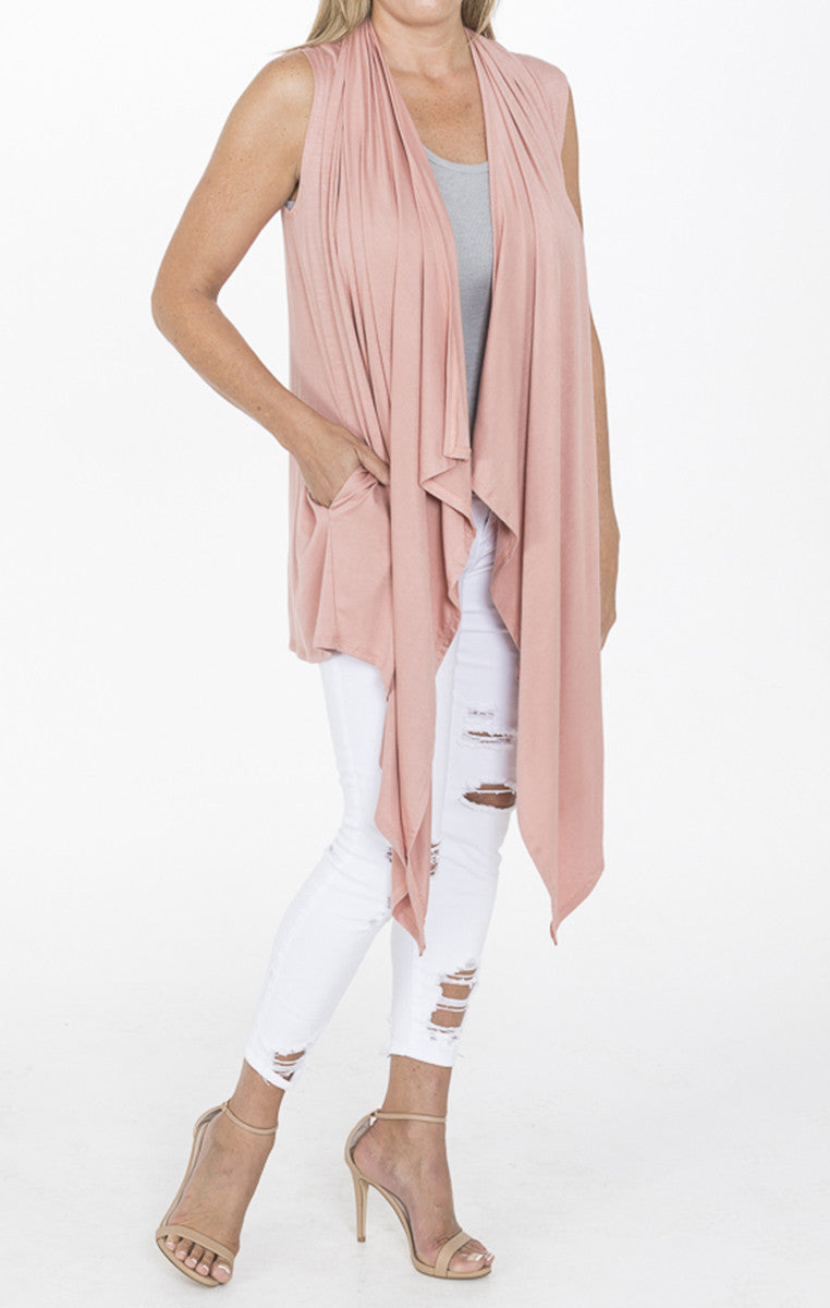Sleeveless Rose Cardigan - Troovi Finds, Cardigan, Annabelle, Troovi Finds