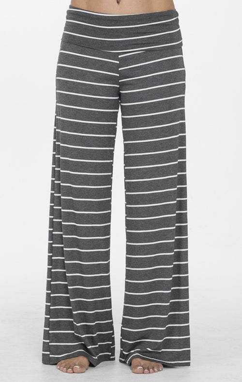 Gray Stripe Lounge Pants