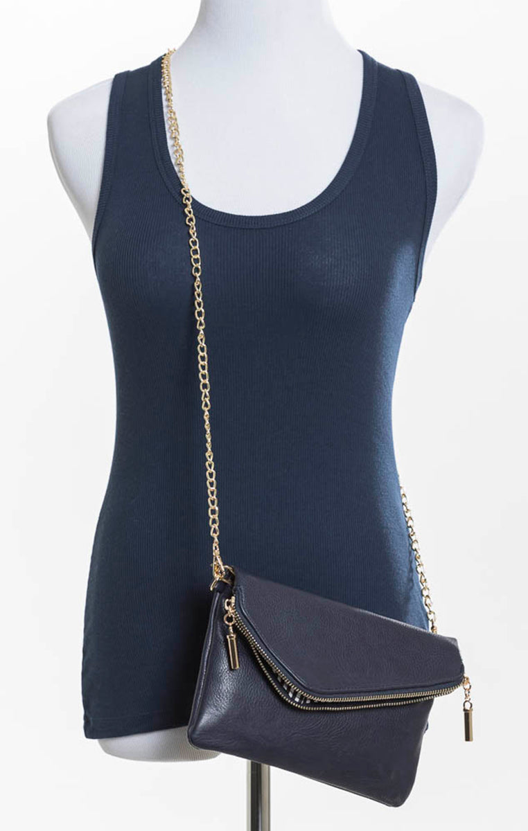 Envelope Clutch - Navy - Troovi Finds, Accessories, Anzell, Troovi Finds