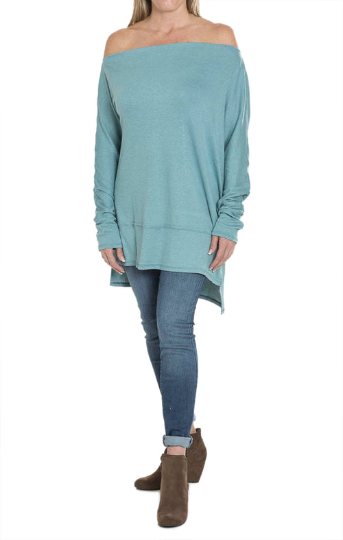 Loose Fit Tunic - Basil