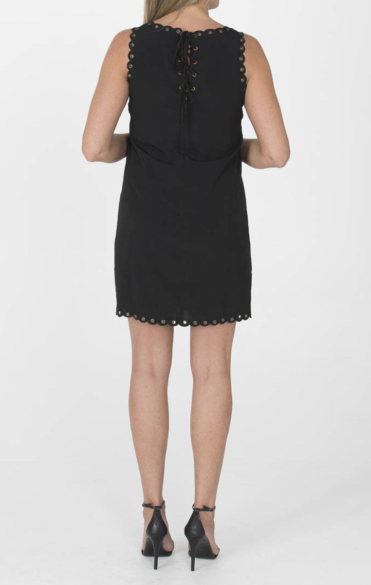 Grommet Dress in Black - Troovi Finds, Dresses, Storia, Troovi Finds
