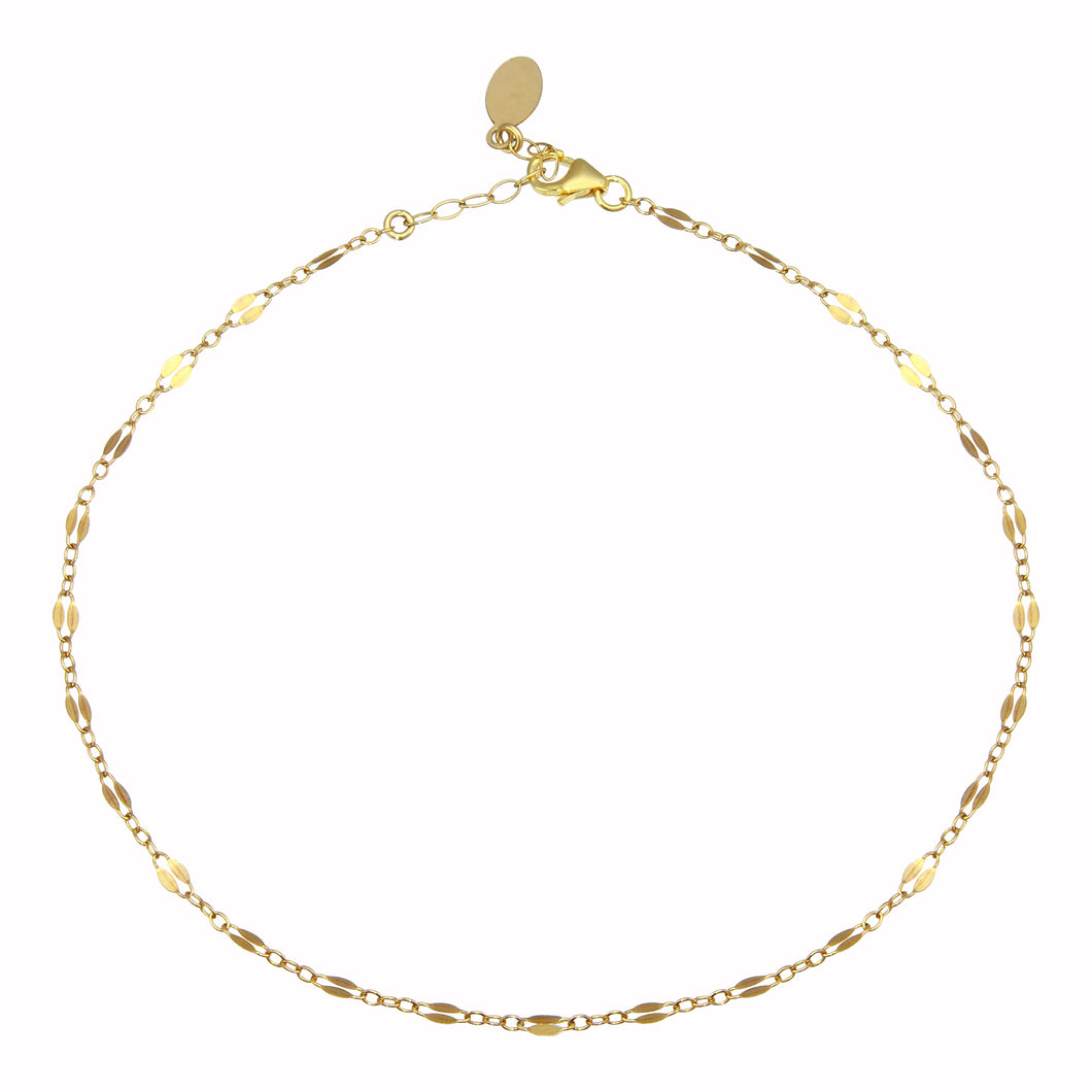 DAINTY CHAIN ANKLET