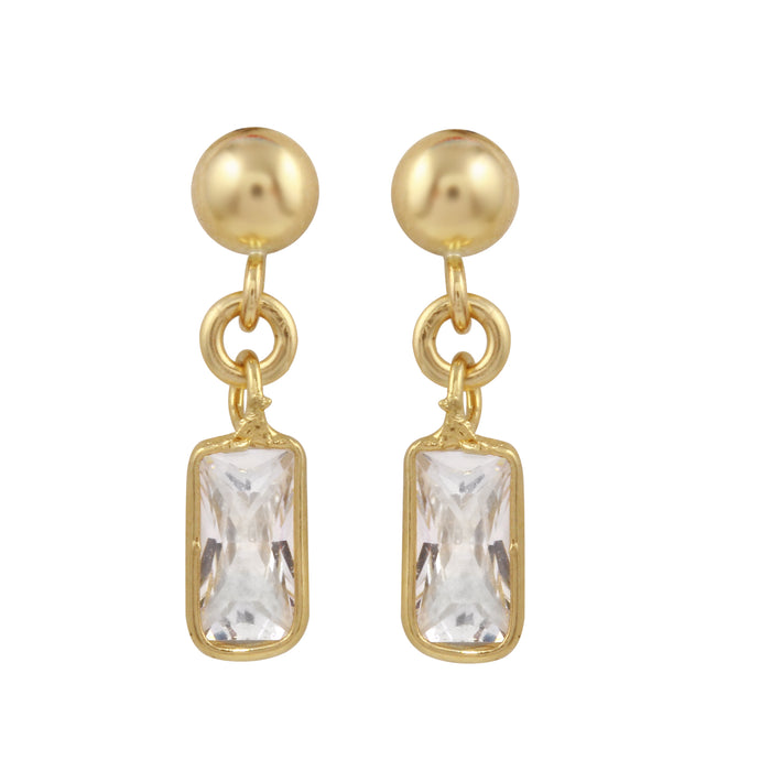 ADRIANNA DANGLE STUD EARRINGS