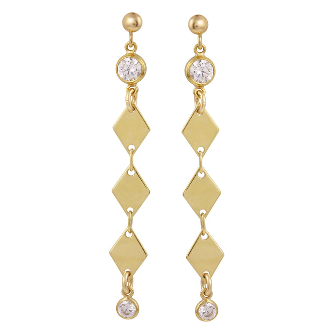 GISELLE DANGLE STUD EARRINGS