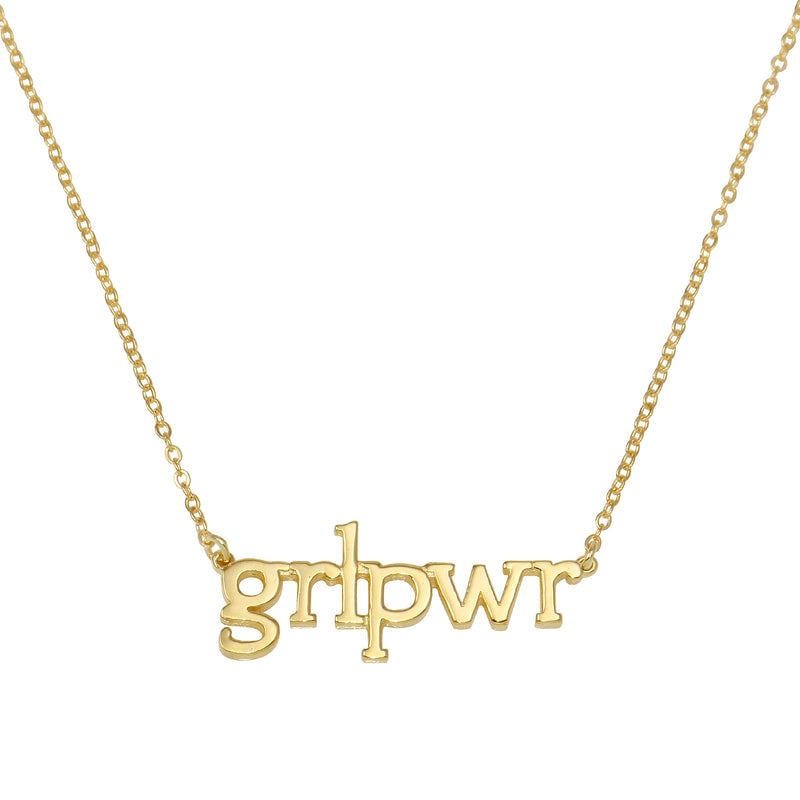 THE GRL PWR NECKLACE