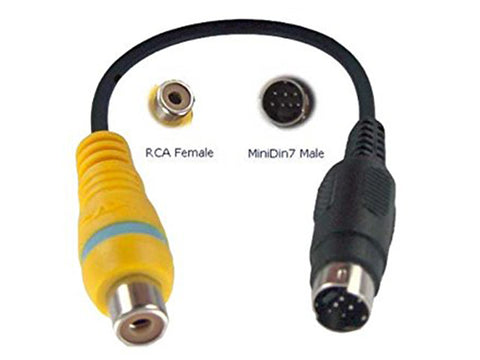Adaptor RCA to S Video - Danelca