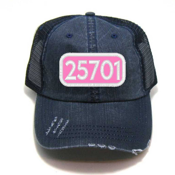 Gracie Designs - Patched Hat - Any Zip Code