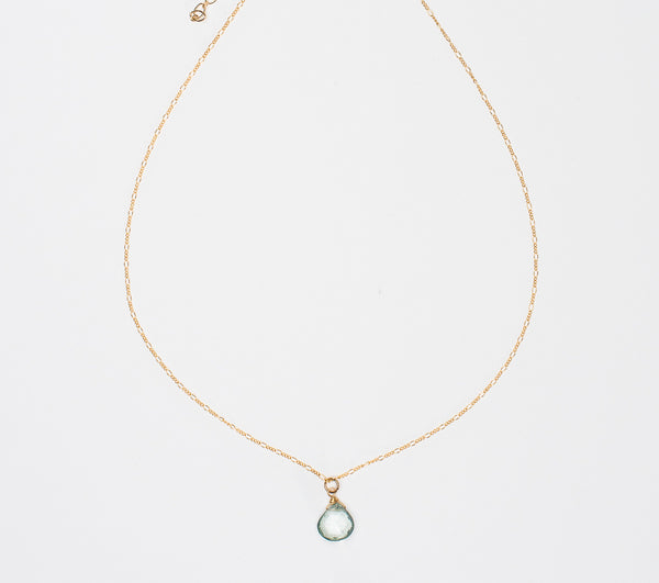 Ruthie and Olive | 3 meals donated for every necklace - Keep Your Heart Open - Gemstone Necklace