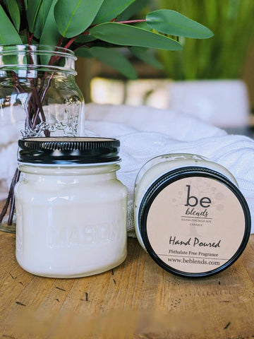 Be Blends - Soy Candle Mason Jar Collection - Lime in the Coconut