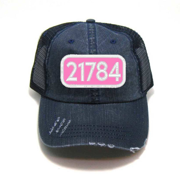21784 Patched Trucker Hat - Zip Code